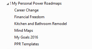 How To Use Evernote With The Personal Power Roadmap System The - Personal roadmap template
